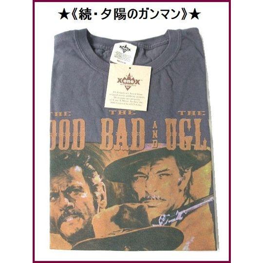 【続・夕陽のガンマン】クリント・イーストウッド/Tシャツ/メンズМ 《OUT★LAW》西部劇と言